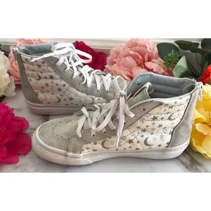 Vans SK8 Zip Star Moons Glitter BIG KID Sneakers